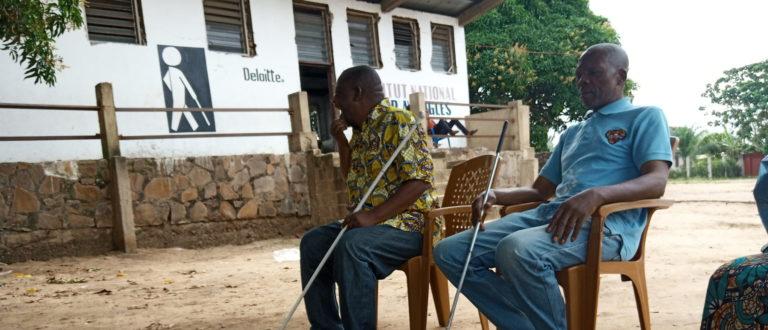 Article : Covid-19 à Kinshasa : Appel au secours de la cité  des aveugles à Mont-Ngafula