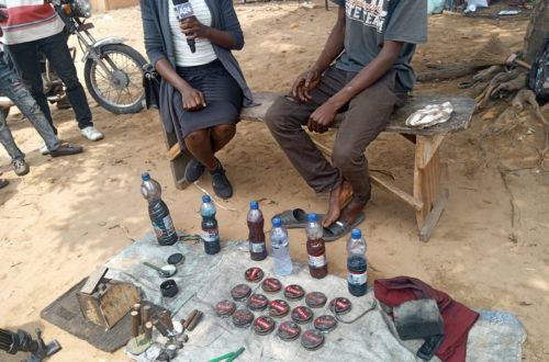 Article : À Kinshasa, Freddy et Vital, deux jeunes sourds cireurs de chaussures